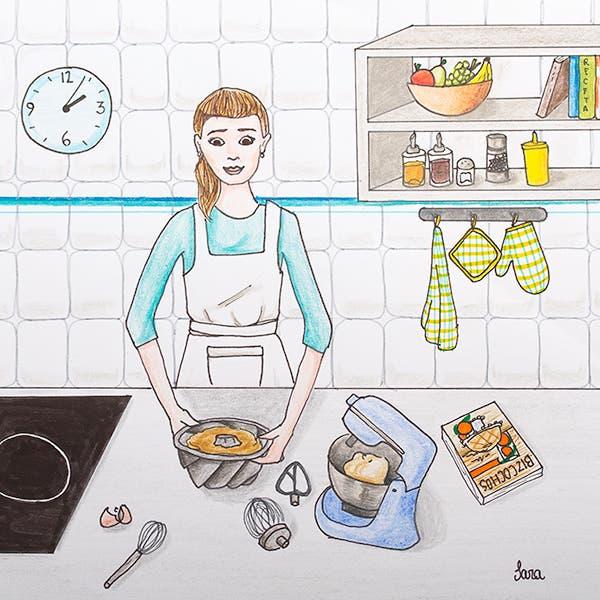 Levántate y cocina