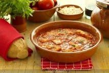 Palometa en salsa