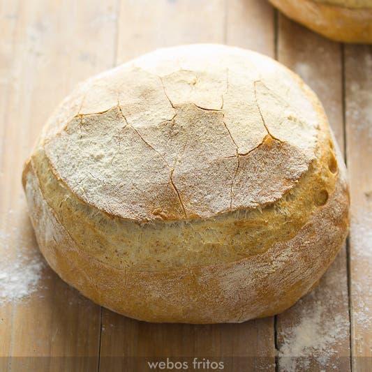 Corteza crujiente de pan