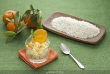 Mousse de arroz con leche