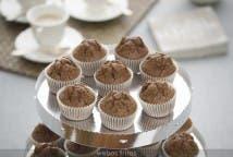 Mini magdalenas de chocolate - Miniatura