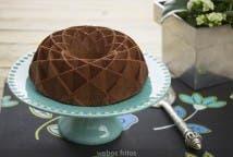 Bizcocho de chocolate y nata
