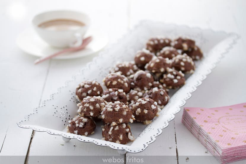 Chouquettes de chocolate