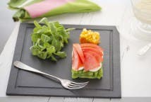 Ensalada de judías verdes y tomate
