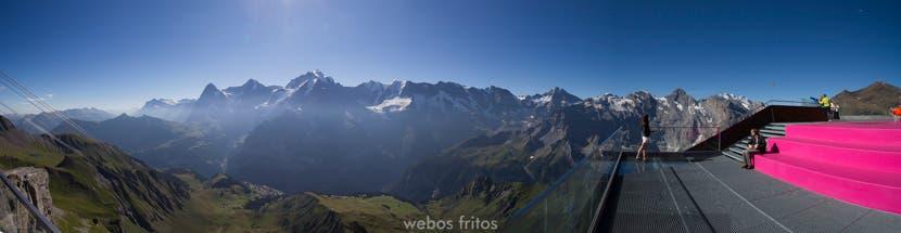 Los Alpes desde Birg