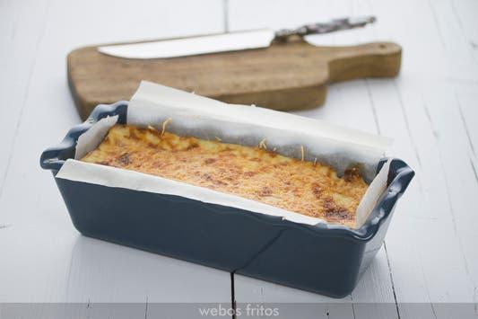 Croque-cake de jamon y queso