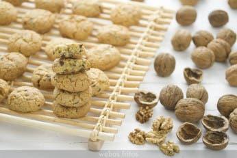 Cookies de chocolate y nueces