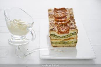 Croque cake de verduras