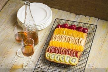Coca de frutas