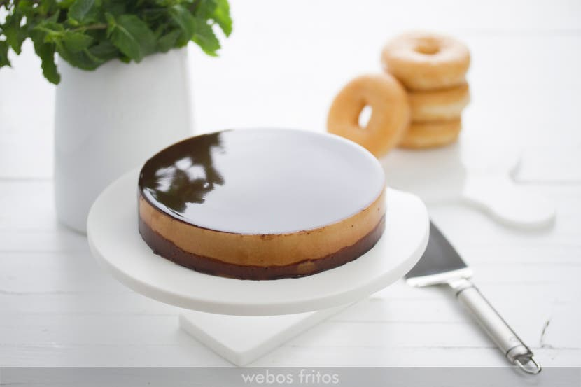 Tarta de Donuts sin horno