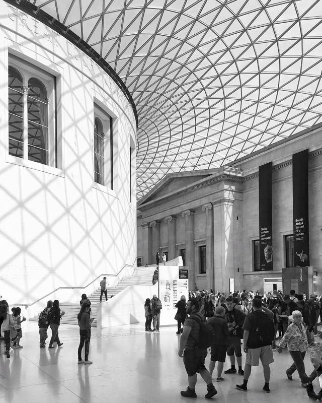 Atrio del British Museum