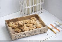 Cookies crujientes de avellana