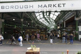 Borough Market: un mercado fascinante en Londres