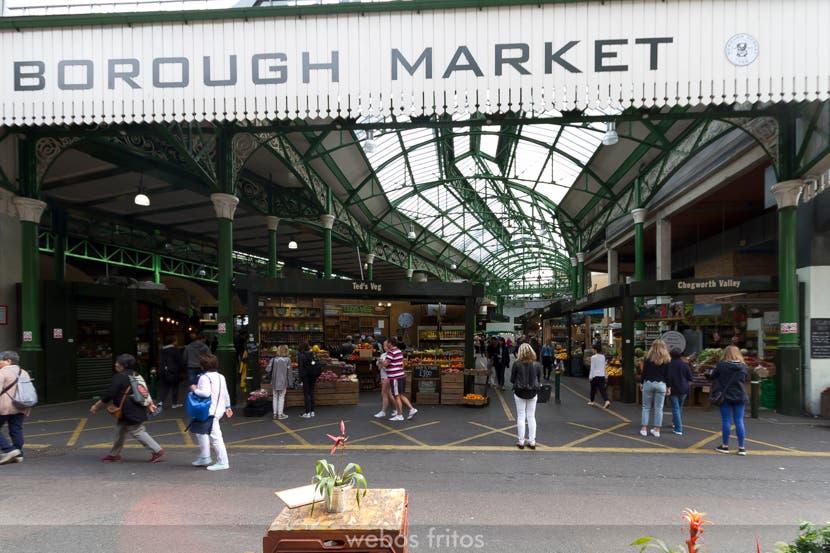 Borough Market: un mercado fascinante en Londres