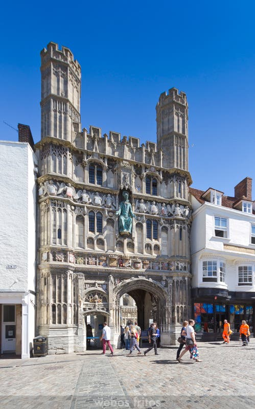 Canterbury - Cathedral Gate