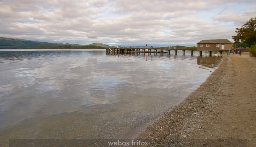 Luss and the Loch Lomond