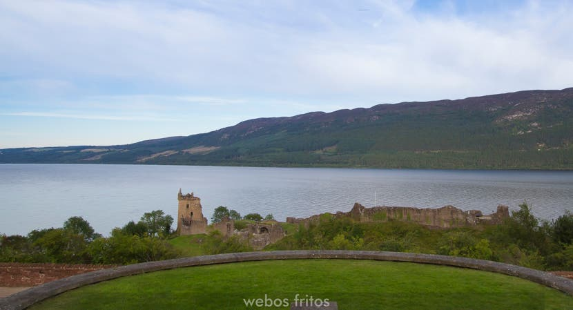 Urquhart Castle and the Loch Ness