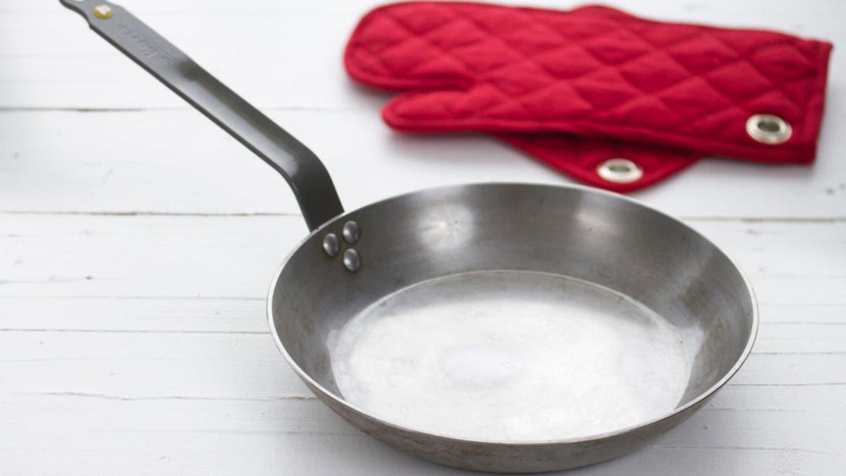 Cómo Limpiar Una Sartén De Hierro Webos Fritos