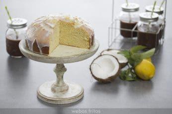 Bizcocho de limón y coco