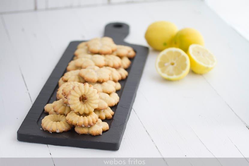 Galletas de limón y aceite de oliva virgen extra