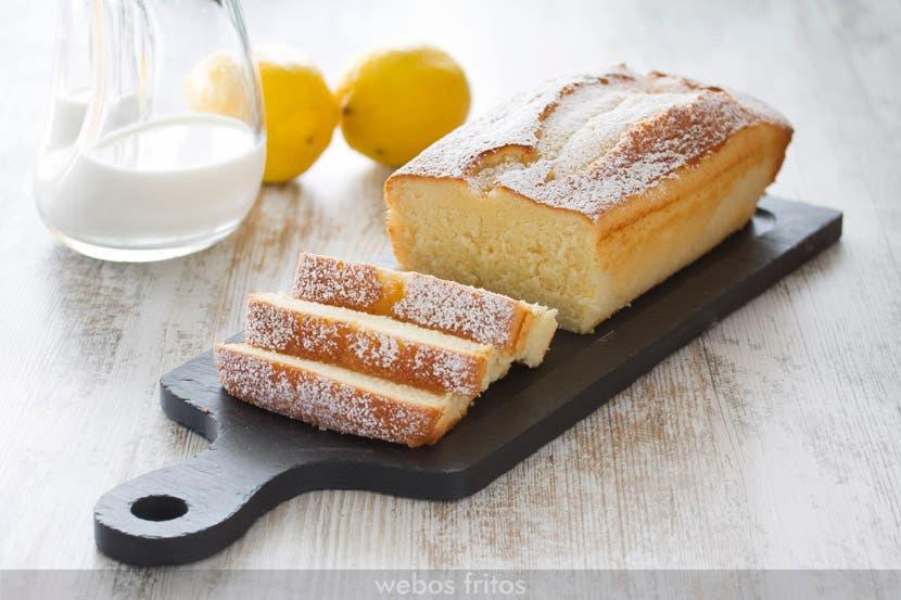 Bizcocho de limón del mini