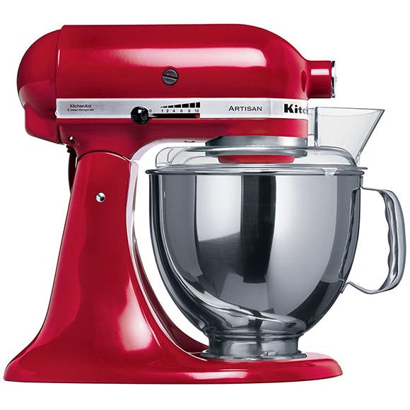 Kitchen Aid Artisan de color rojo manzana