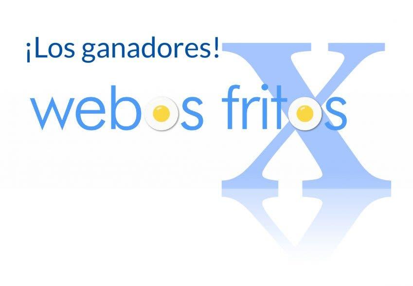 Los ganadores del sorteo por el décimo aniversario de webos fritos