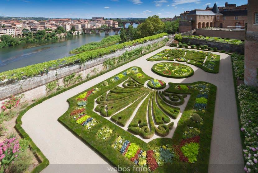 Albi. Los jardines del Palacio de la Berbie