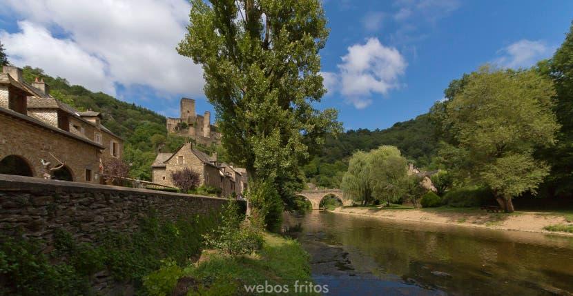 Belcastel y el río Aveyron