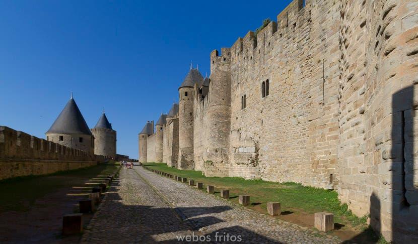 Carcassonne. Entre las murallas