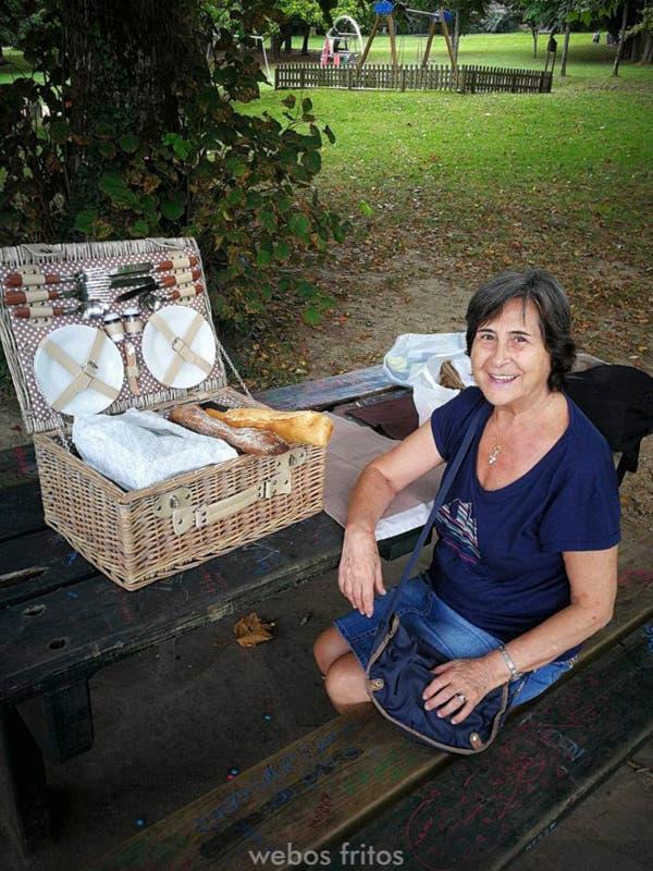 De picnic en el Parc de Ducontenia