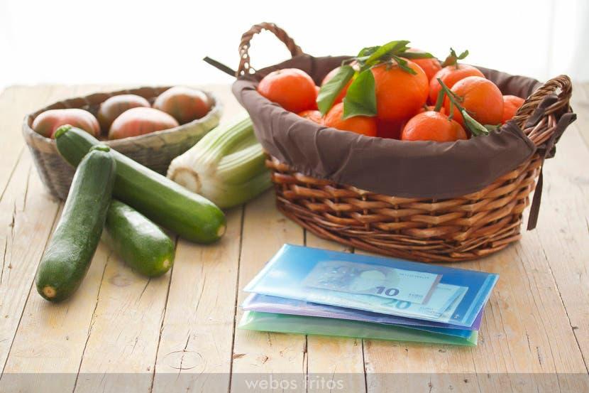 Organización económica de la compra semanal: el método webos