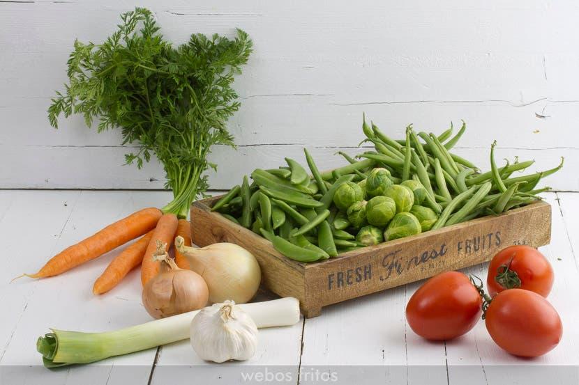 Verduras para estofar