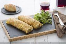 Tortillas rellenas de verduras