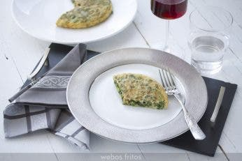 Tortilla de rúcula
