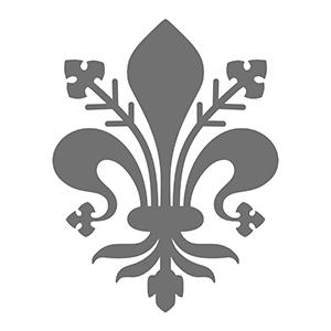 Haz clic para descargar la plantilla de la  flor de Lis florentina