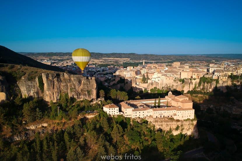 Cuenca a vista de globo