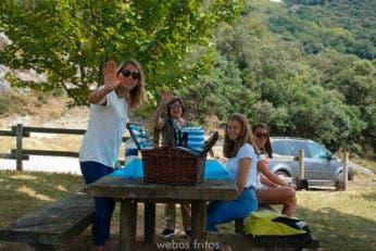 Cómo encontrar mesas de picnic