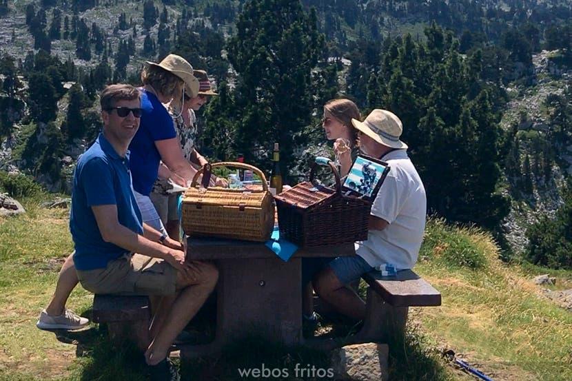 Quince bonitos lugares de picnic de España