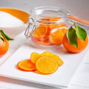 Curso de mandarinas confitadas