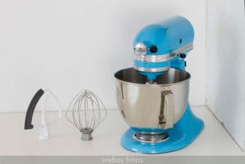 KitchenAid: amasadora y accesorios de mucho nivel