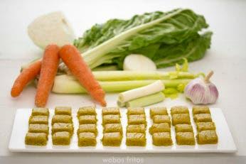 Pastillas de concentrado de verduras