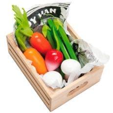 Ideas de regalos: Caja de verduras de madera para niños