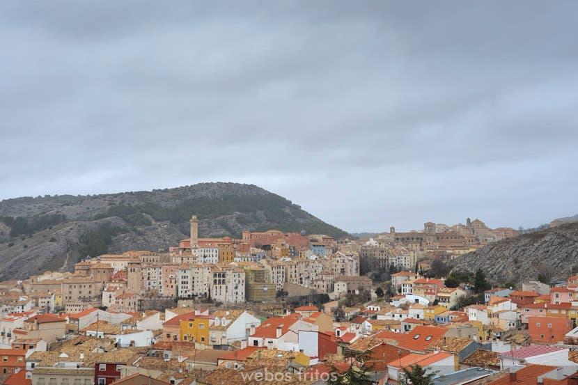 Vista de Cuenca desde el Museo Paleontológico de Castilla La Mancha