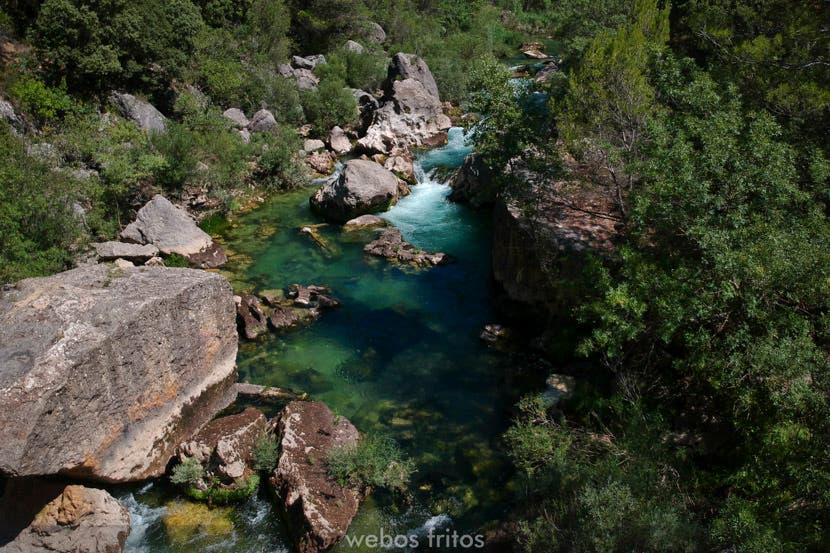 Hundido de Armallones, un paisaje impresionante