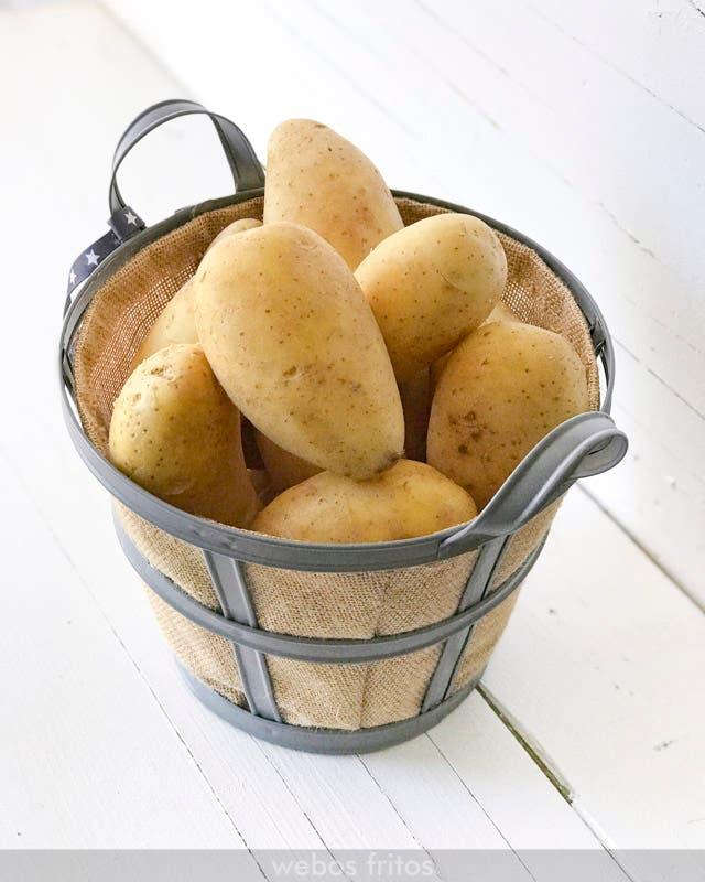 Cocer las patatas con piel o sin ella