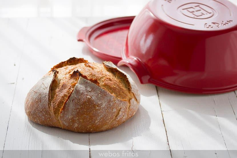 Hogaza de pan en campana cerámica