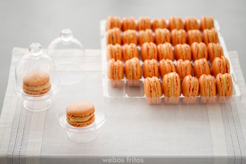 Macarons de naranja en el Cook Expert de Magimix