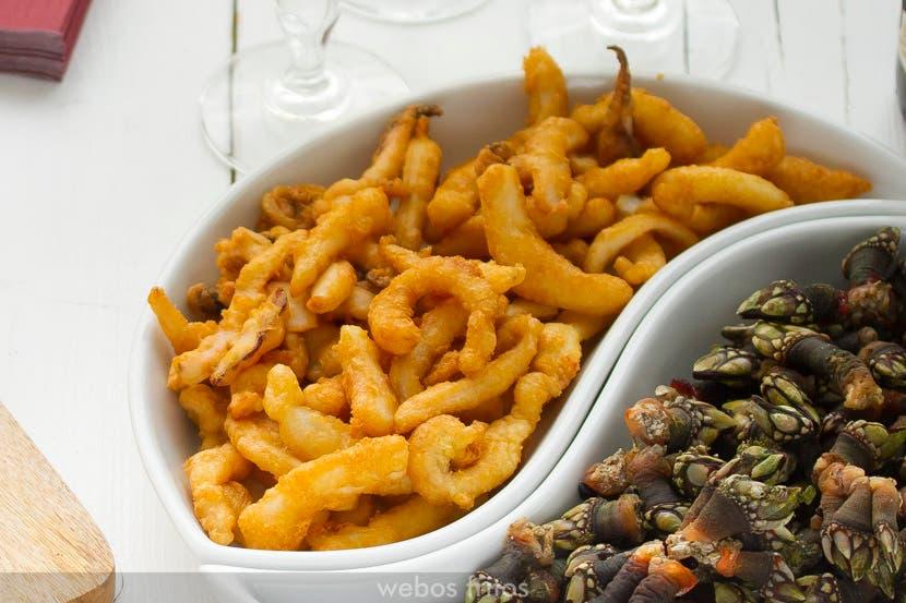 Sepia en tempura
