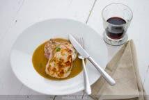 Lomo de cerdo ibérico con salsa al Pedro Ximénez